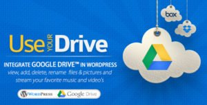 Use-your-Drive - Google Drive плaгин для WordPress