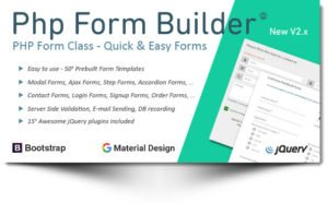 PHP Form Builder v1.0