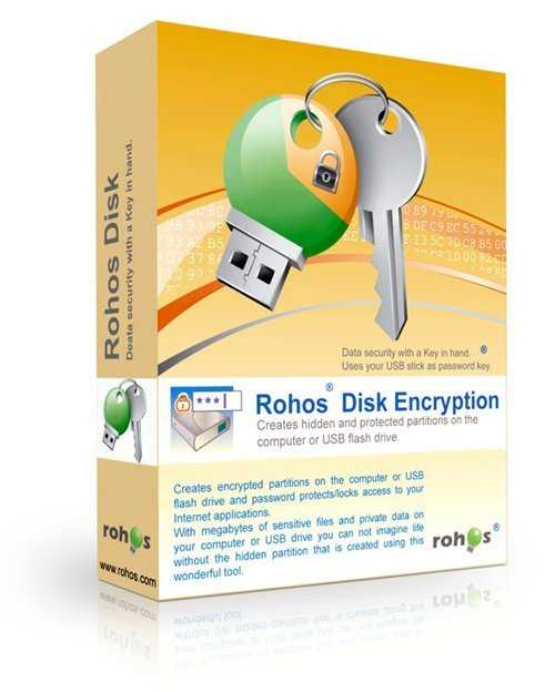Rohos Disk Encryption