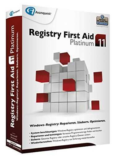 Registry First Aid Platinum 11.1.0