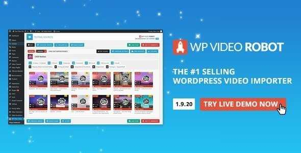 Video Robot WordPress Plugin Nulled